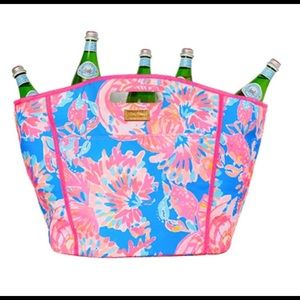 Lilly Pulitzer Beverage Bucket Tote
